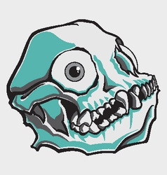 Comical Skull vector image