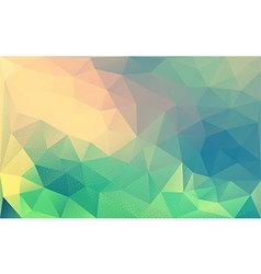 Retro Polygon Art Background vector
