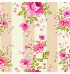 Roses floral wallpaper vector