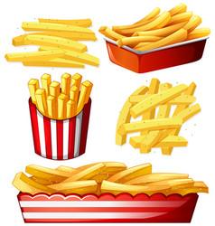 Set hot chips vector
