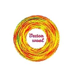 Velctor wool vector image vector image