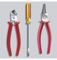 metalwork tools vector image