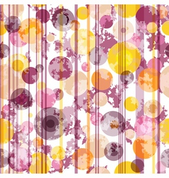 Seamless spotty striped pattern vector image vector image