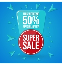 Sale special offer vector image vector image