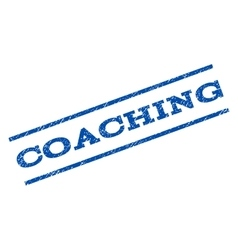Coaching Watermark Stamp vector
