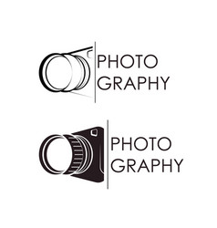 photographer symbol vector image