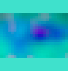 Turquoise blue purple mosaic square tiles vector