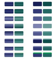 Web nav blue green vector