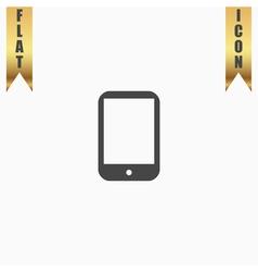 Modern digital tablet PC icon vector image