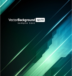 abstract 3d technology background vector image vector image