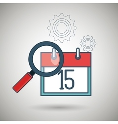 search calendar date day icon vector image