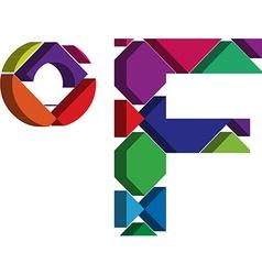 3d Farenheit symbol vector