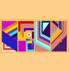 Background colorful 2021 bright h vector