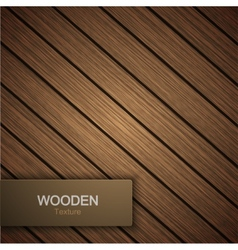 modern wooden background vector image