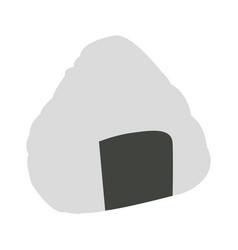 Isolated onigiri vector