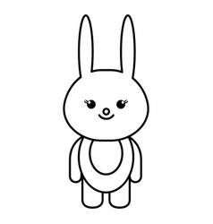 animal rabbit vector image