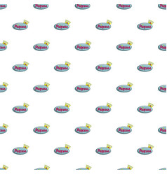 Princess show pattern seamless vector