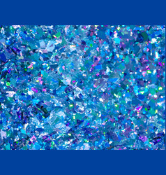 Blue sparkles blue glitter background elegant vector