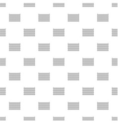 country fence pattern seamless vector image