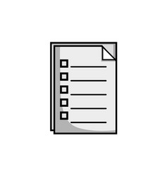 Grayscale documents paperwork information archive vector