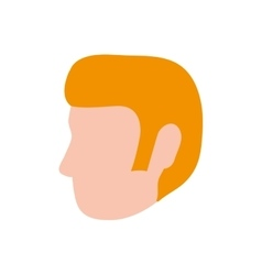 Man head male avatar person people icon vector