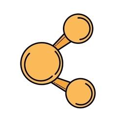 share social media symbol vector image