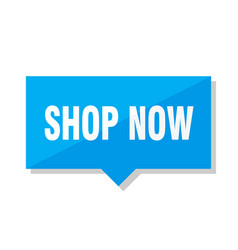 shop now price tag vector image