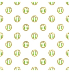 Skipping rope pattern cartoon style vector