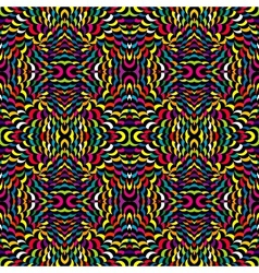 Abstract psychedelic background vector image vector image