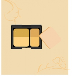 make up collection vector image
