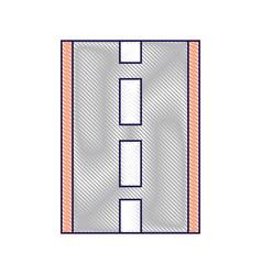 road or street navigation concept vector image