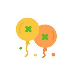 balloons birthday birthday party celebration flat vector image