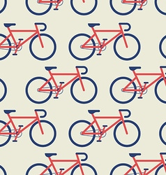Bicycle seamless background vector