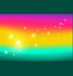 bright gradient background vector image
