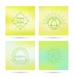 Colorful abstract backgrounds blurred vector