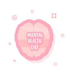 Mental health day vector