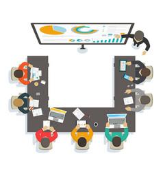 business seminar vector image vector image