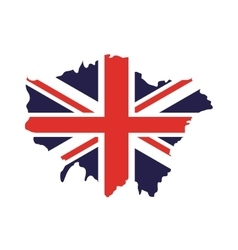 england map isolated icon vector image