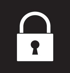 Lock icon2 vector image vector image