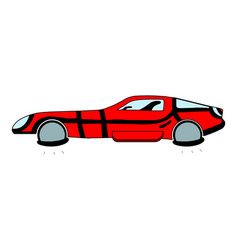 An antigravity hovering car vector