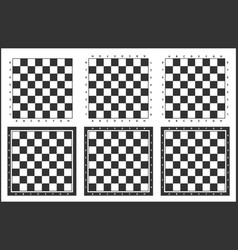 chess board background design vector image