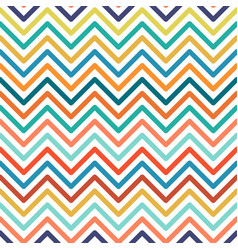 Chevron colorful seamless geometric pattern vector