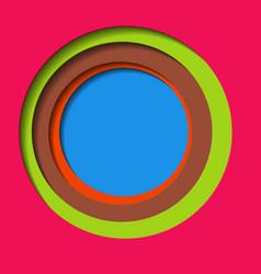 Hand drawn scribble circles logo design elements vector