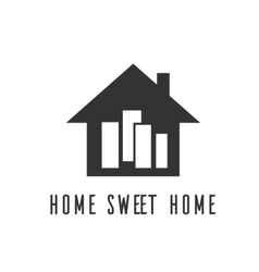 icon home sweet home village vector image