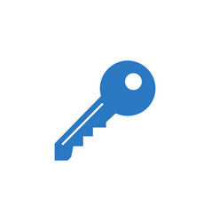 key related glyph icon vector image