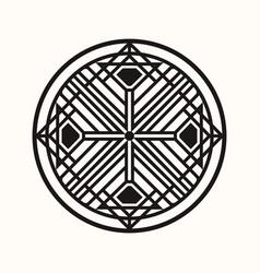 Sacred geometry 0144 vector