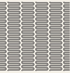 seamless pattern black and white version vector image