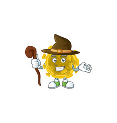Sweet and tricky witch infectious coronavirus vector