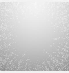 Beautiful glowing snow christmas background subtl vector