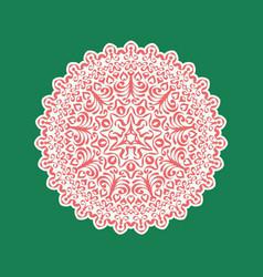circular pattern in vector image